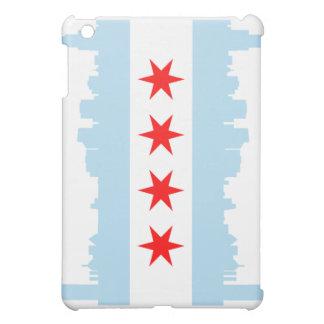 Chicago Flag Skyline Case For The iPad Mini