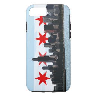 Chicago Flag Skyline iPhone 7 case