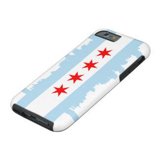 Chicago Flag Skyline Tough iPhone 6 Case