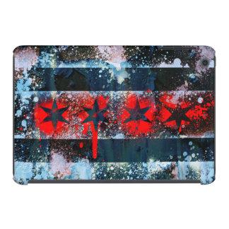 Chicago Flag Spray Paint iPad Mini Cover