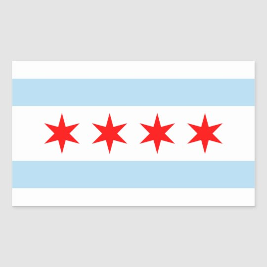 Chicago Flag Stickers