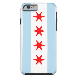 Chicago Flag Tough iPhone 6 case