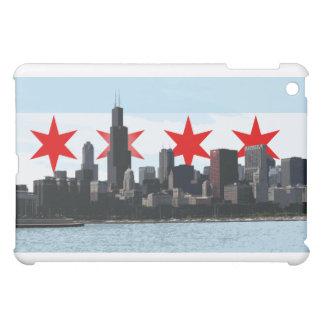 Chicago Flag with City Skyline Urban iPad Case
