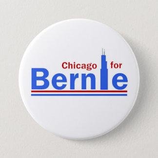 Chicago for Bernie 3 Inch Round Button