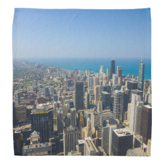 Chicago From Above Bandana