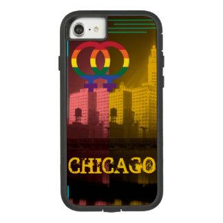 Chicago Gay Lesbian Interest Rainbow Wrigley Bldg Case-Mate Tough Extreme iPhone 7 Case