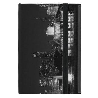 Chicago Grant Park Grayscale Cover For iPad Mini