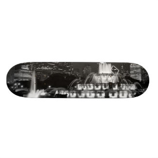 Chicago Grant Park Grayscale Skateboard Deck