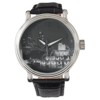 Chicago Grant Park Grayscale Wristwatches