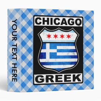 Chicago Greek American Binder