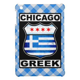 Chicago Greek American Tablet Cover iPad Mini Case