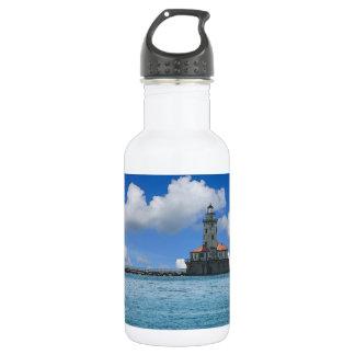 Chicago Harbor Lighthouse Painterly