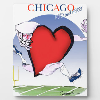 Chicago Head and Heart, tony fernandes Plaque