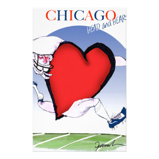 Chicago Head and Heart, tony fernandes Stationery