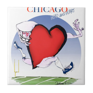 Chicago Head and Heart, tony fernandes Tile