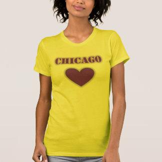 Chicago Heart Glow T-Shirt