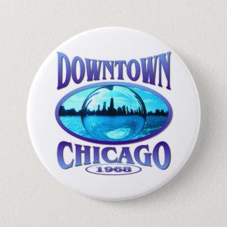 Chicago Illinois 3 Inch Round Button