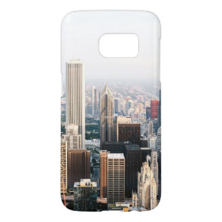 Chicago Illinois Aerial View Samsung Galaxy S7 Case