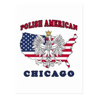 Chicago Illinois Polish Postcard