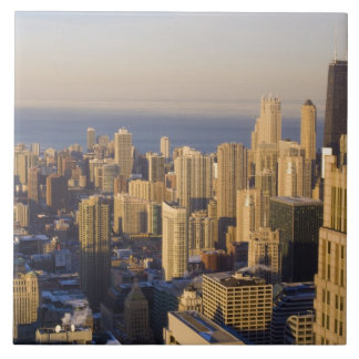 Chicago, Illinois, Skyline from the Sears Tower Ceramic Tiles