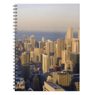 Chicago, Illinois, Skyline from the Sears Tower Spiral Note Book