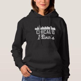 Chicago Illinois Skyline Hoodie
