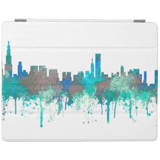 Chicago Illinois Skyline-SG-Jungle iPad Cover