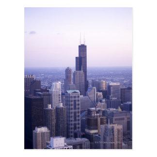 Chicago, Illinois, USA 2 Postcard