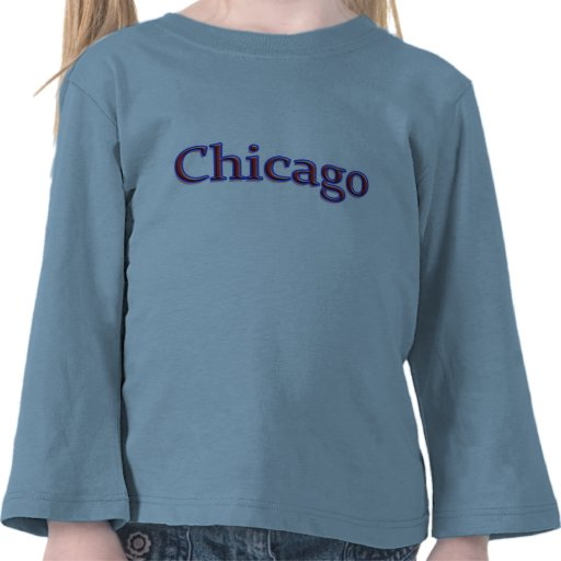 Chicago in Red and Blue Shirts
