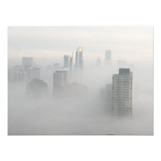 Chicago in the Clouds Photo