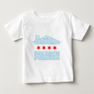 Chicago Jack Flag Baby T-Shirt