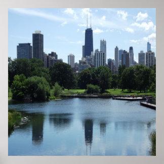 Chicago John Hancock Center Poster