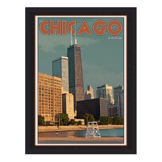 Chicago - John Hancock Centre Postcard