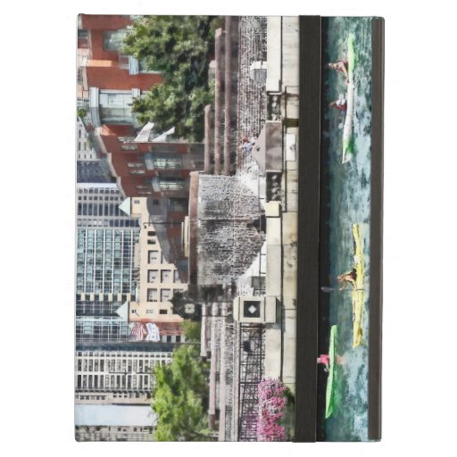 Chicago - Kayaking on the Chicago River iPad Air Case