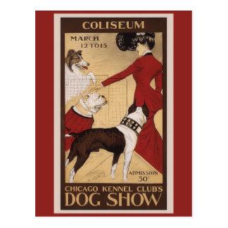 Chicago Kennel Club Postcard