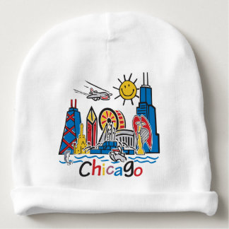 Chicago Kids Dark Baby Beanie