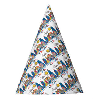 Chicago Kids Dark Party Hat