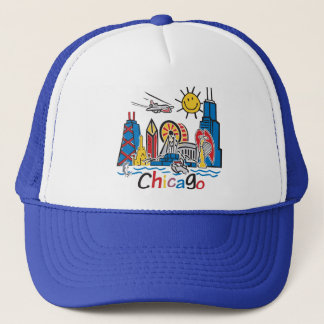 Chicago Kids Dark Trucker Hat