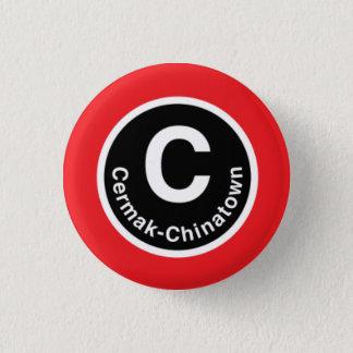 Chicago L Cermak-Chinatown Red Line Button