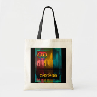 Chicago Lesbian Interest Colorful Pride Gay Tote Bag