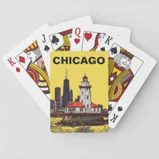 CHICAGO LIGHTHOUSE PLAYING CARDS
