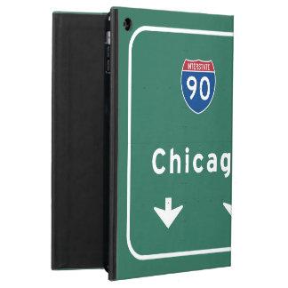 Chicago Loop I-90 E Interstate Illinois IL Case For iPad Air