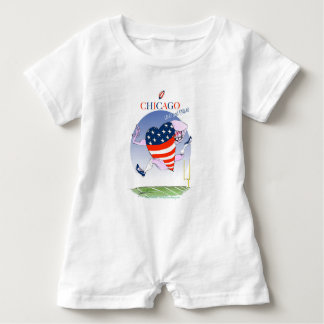 Chicago Loud and Proud, tony fernandes Baby Romper