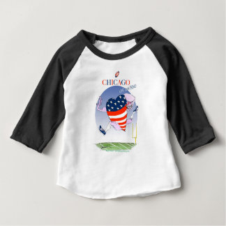 Chicago Loud and Proud, tony fernandes Baby T-Shirt