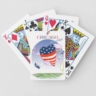 Chicago Loud and Proud, tony fernandes Bicycle Playing Cards