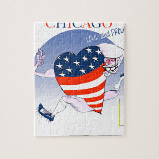 Chicago Loud and Proud, tony fernandes Jigsaw Puzzle