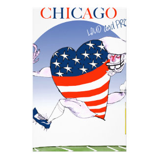 Chicago Loud and Proud, tony fernandes Stationery