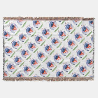 Chicago Loud and Proud, tony fernandes Throw Blanket