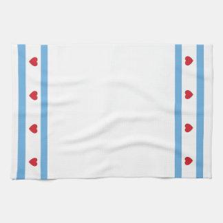 """Chicago Love Kitchen Towel 16"""" x 24"""""""