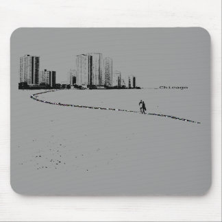 Chicago Lovers Vintage mousepad